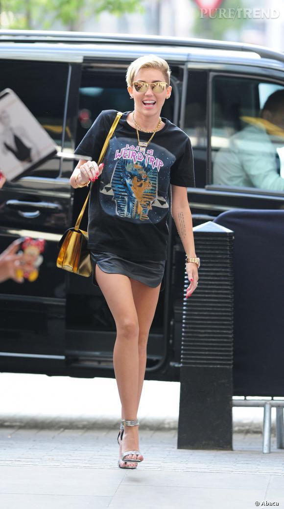 Miley Cyrus, canon en mini.