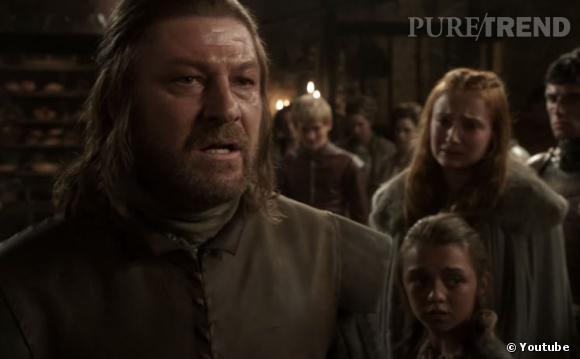 """La vidéo se souvient des disparus de """"Game of Thrones"""", comme Lors Eddard """"Ned"""" Stark."""