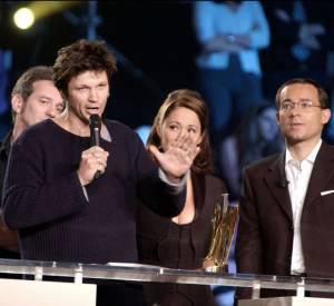 Bertrand Cantat lors des Victoires de la Musique en 2002.