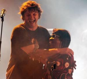 Bertrand Cantat à la 21ème edition du festival de rock des nuits Atypiques de Langon avec le duo Amadou et Mariam.