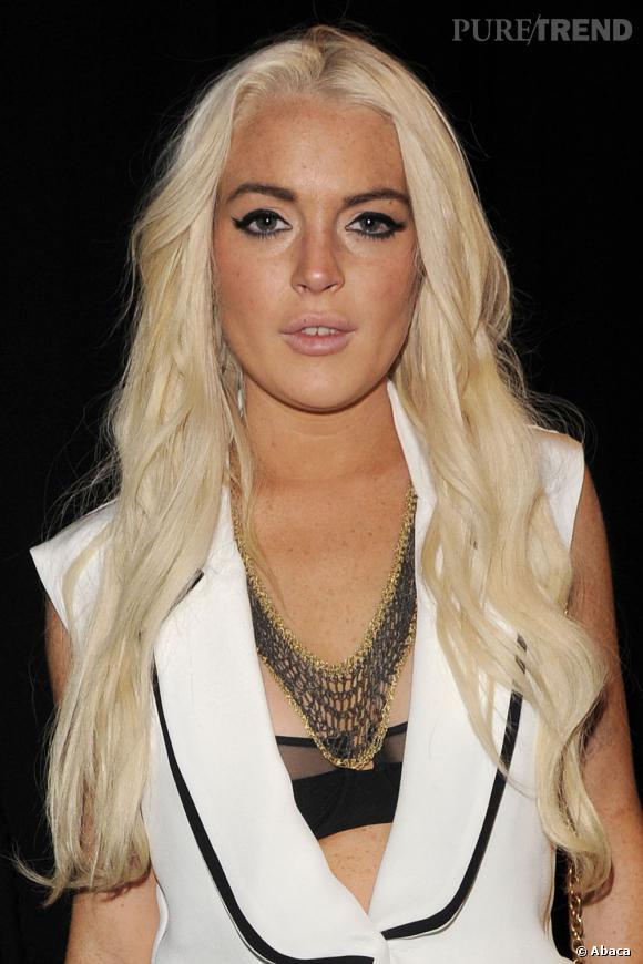 Lindsay Lohan fait un peu moins parler d'elle.