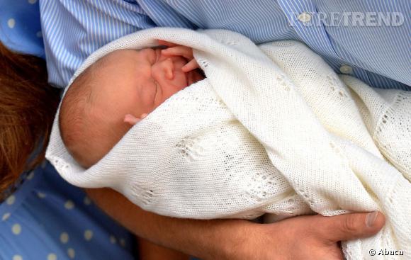 Voici son Altesse Royale le Prince George de Cambridge.