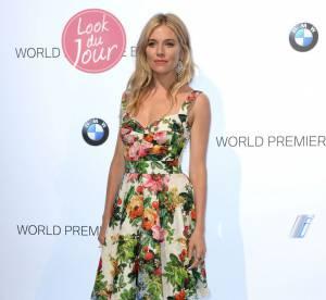 Sienna Miller, le chic a l'italienne pour la BMW i3 a Londres