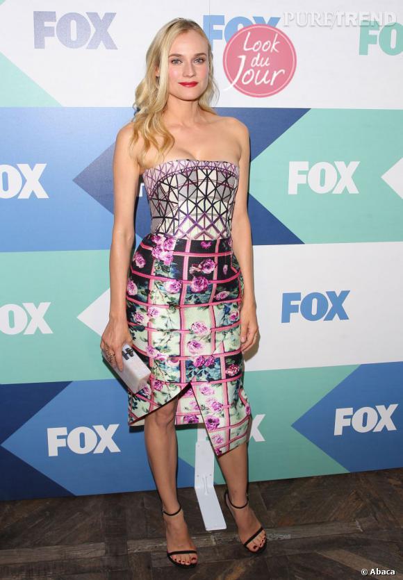 Diane Kruger à la soirée Fox All-Star à West Hollywood en Californie le 1er août 2013.