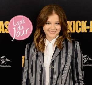 """Chloe Moretz,  it-girl rayee pour ''Kick-Ass 2"""" a Londres"""