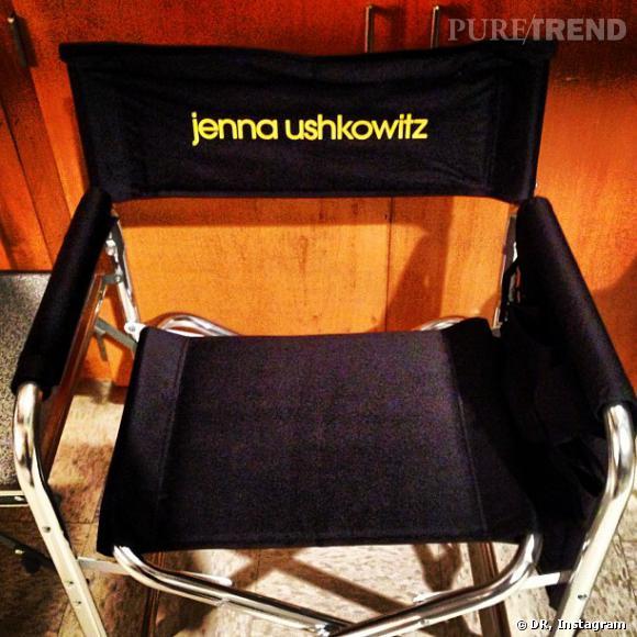 """Jenna Ushkowitz, heureuse d'être revenue sur le tournage de """"Glee"""" !"""