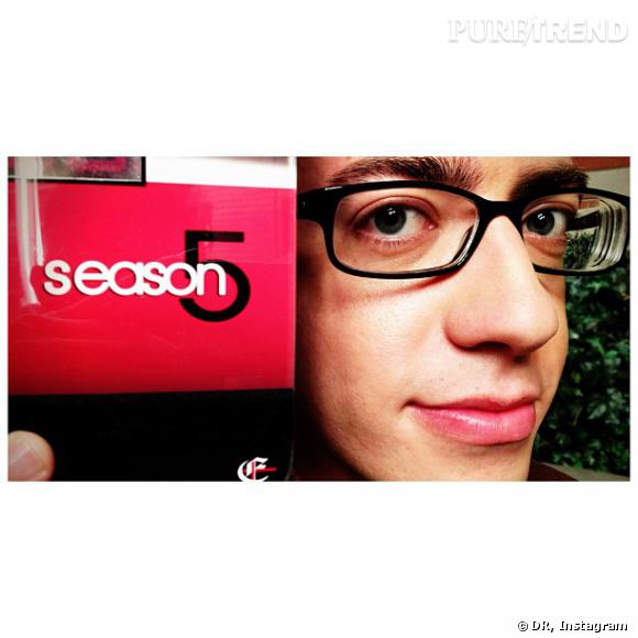 """Kevin McHale annonce la saison 5 de """"Glee"""" !"""