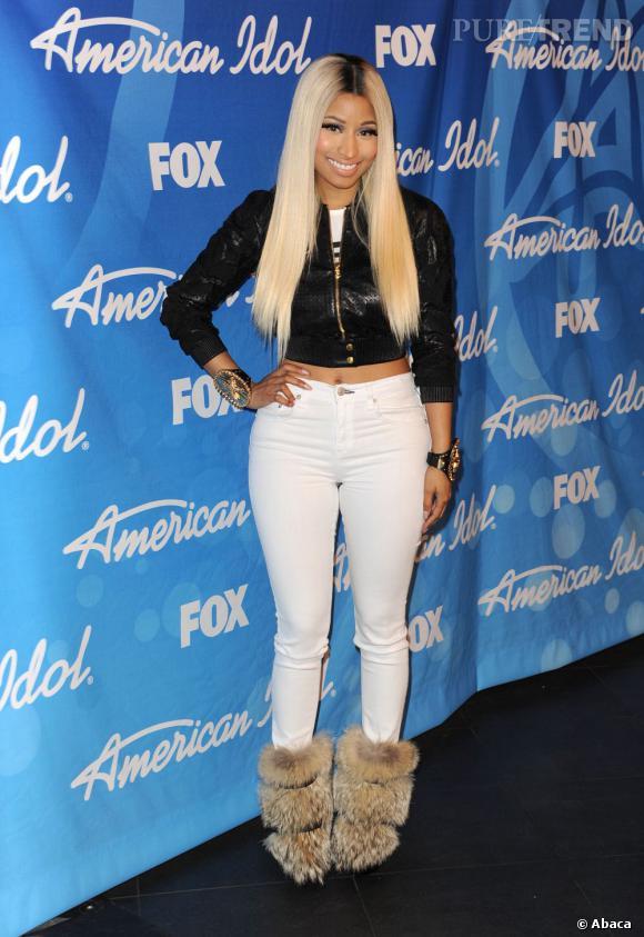 Le chic selon Nicki Minaj.