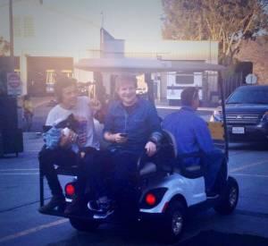 Retrouvailles entre les deux BFFS Ed Sheeran et Harry Styles lors des Teen Choice Awards 2013.