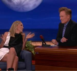 Sharon Stone chez Conan O'Brien.