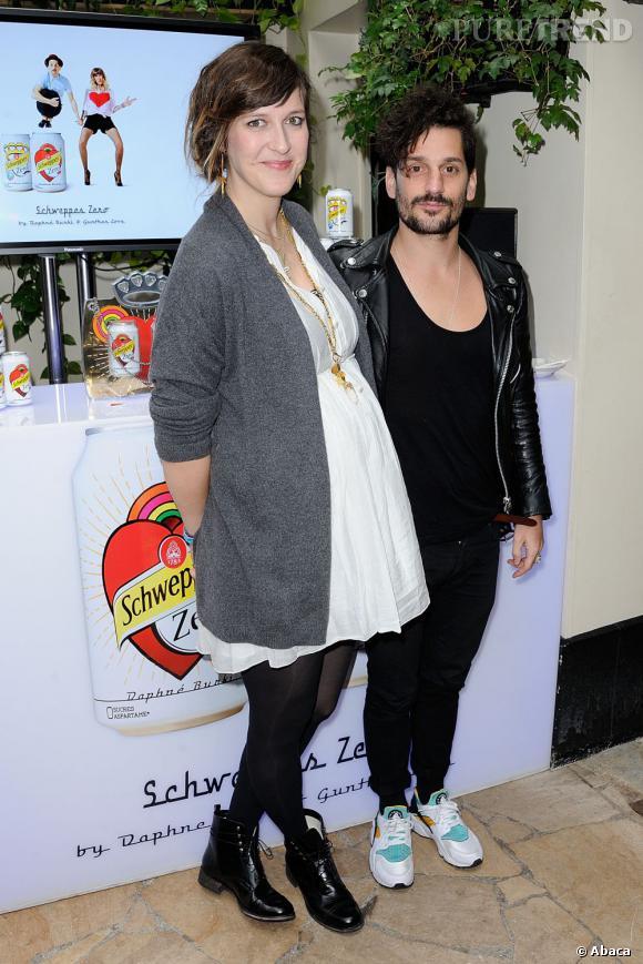 Daphné Bürki et Gunther Love ont accueilli leur petite fille le 7 juillet dernier.
