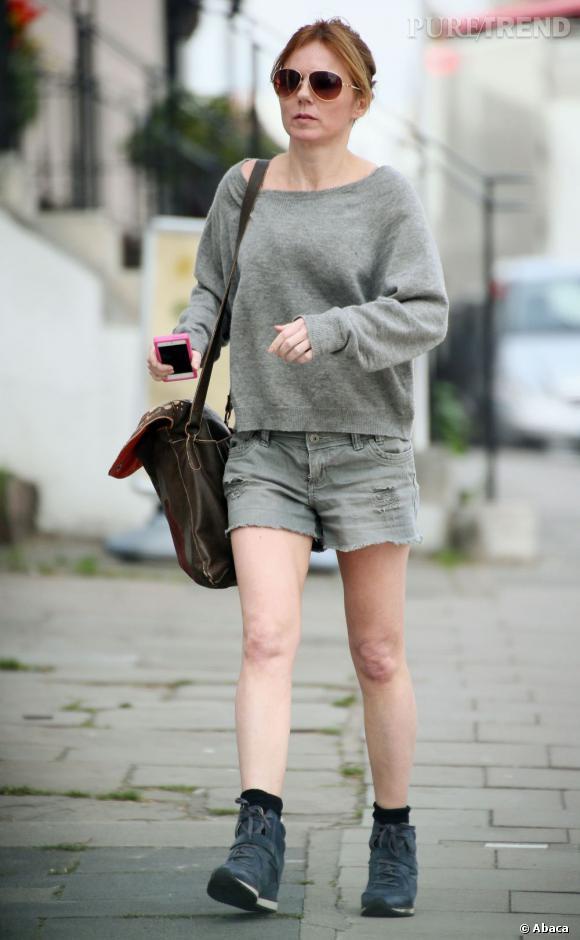 Geri Halliwell essaie-t-elle de passer inaperçue avec une telle tenue ?