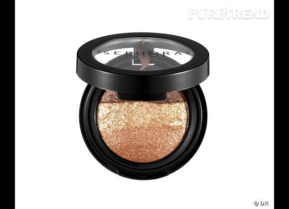 Petit prix : nos must have maquillage de l'été à moins de 15 € ! Fards à paupière Trio de Lune, Sephora, 14,90 €