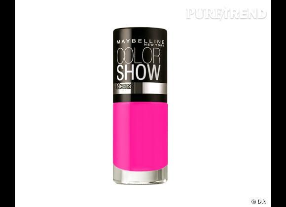 Petit prix : nos must have maquillage de l'été à moins de 15 € !    Vernis à ongles Color Show, Gemey Maybelline, 3,80 €