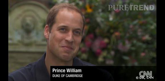Le Prince William donne sa première interview depuis la naissance du Prince George.