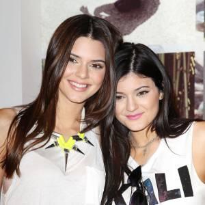 Kendall et Kylie Jenner, les petites princeses de la famille Kardashian.
