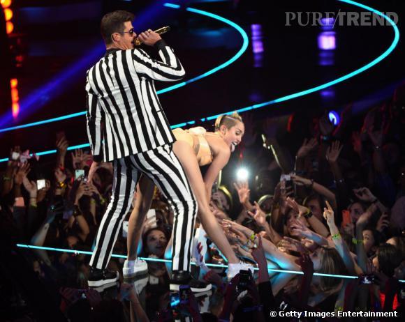 Miley Cyrus, une prestation scandaleuse aux MTV Video Music Awards 2013 dimanche 25 août.
