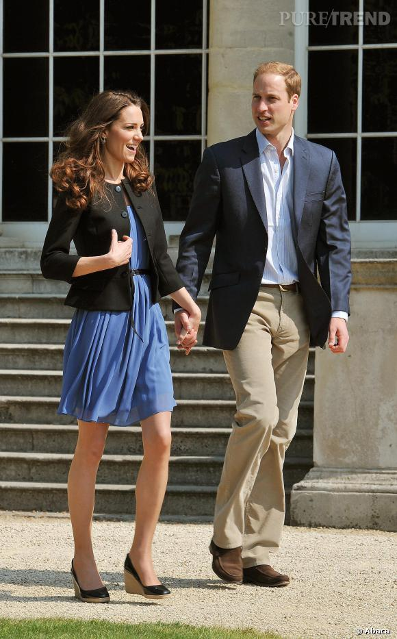 Kate Middleton a retrouvé sa silhouette d'avant-grossesse.