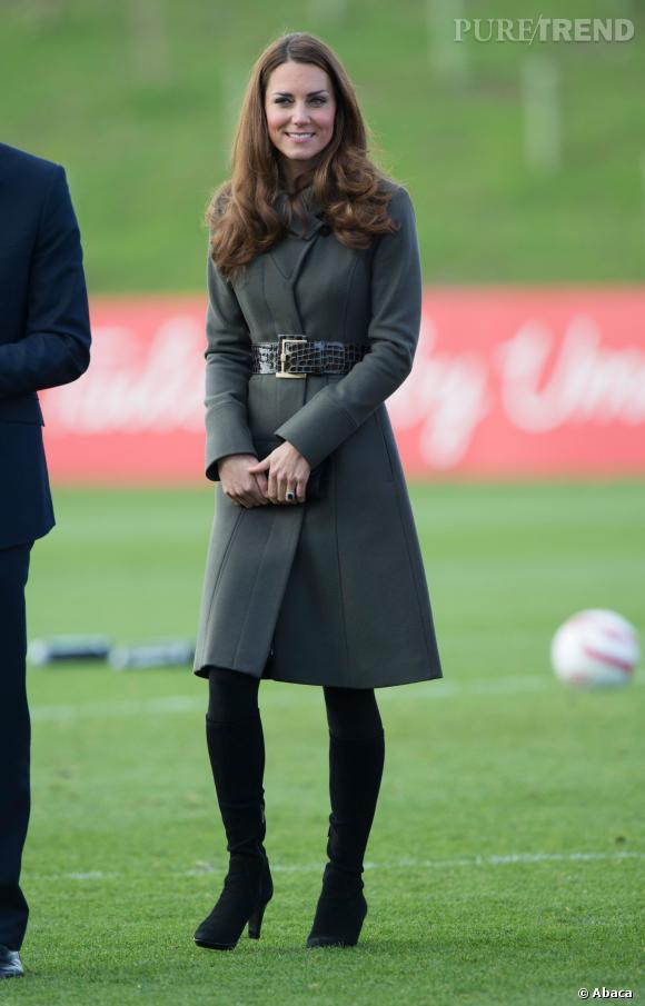 Kate Middleton avant sa grossesse.