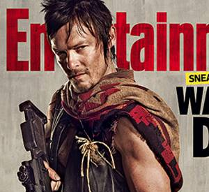 Norman Reedus s'affiche pour Entertainment Weekly.