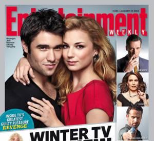 """Le couple glamour de la série """"Revenge""""..."""