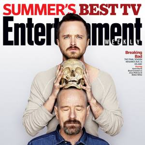 "Le fameux duo de ""Breaking Bad"" pose pour Entertainment Weekly."