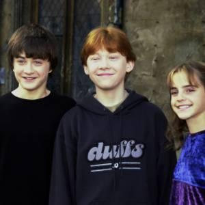 Daniel Radcliffe en 2001... un acteur qu'on a vu évoluer.