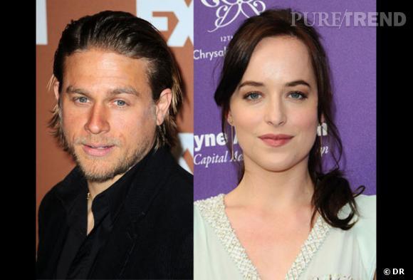 "Charlie Hunnam et Dakota Johnson ont été retenus au casting de ""50 Shades of Grey""."