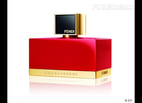 Les nouveaux parfums de la rentrée 2013    L'Aquarossa de Fendi, 59 € les 30 ml   Disponible en septembre 2013 en exclu chez Sephora