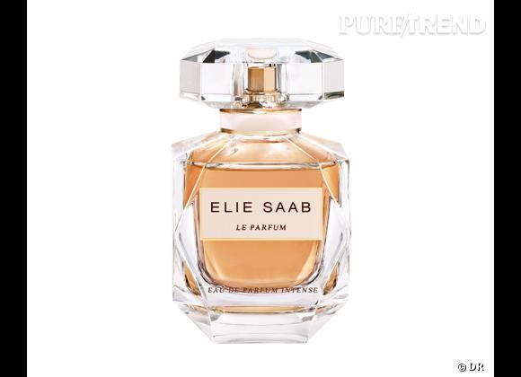 Les nouveaux parfums de la rentrée 2013    Eau de pafum intense Elie Saab, 54 € les 30 ml   Diponible à partir du 2 septembre 2013