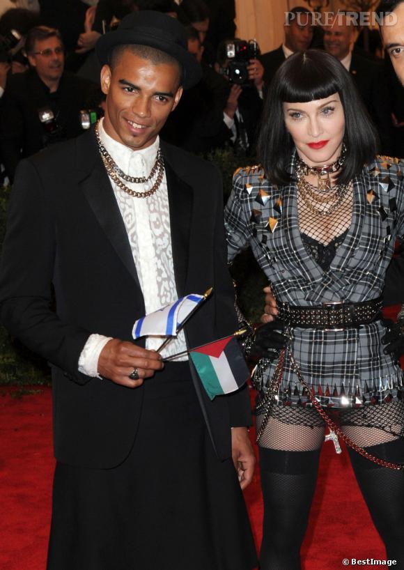 """Brahim Zaibat avoue que Madonna est """"une machine""""."""