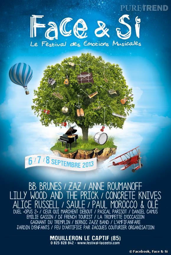 Festival Face & Si, du 6 au 8 septembre à Mouilleron-le-Captif.