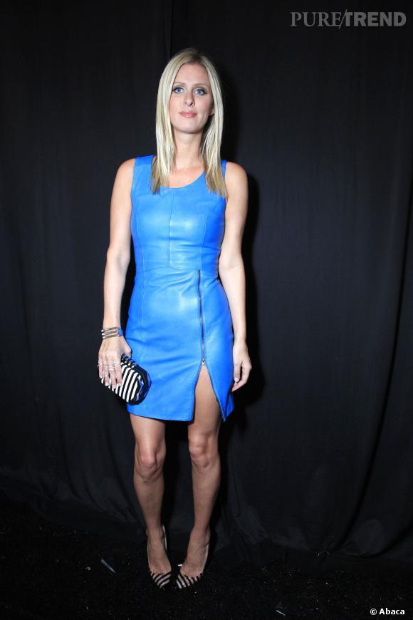 Nicky Hilton au défilé Printemps-Eté 2014 Rebecca Minkoff.