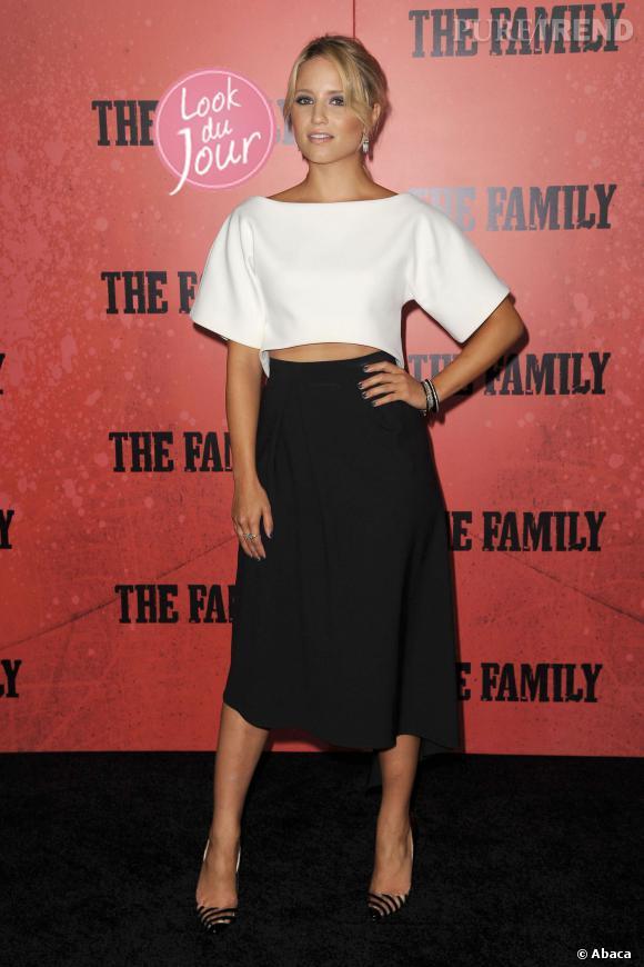 """Dianna Agron à la première de """"Malavita"""" à New York le 10 septembre 2013."""