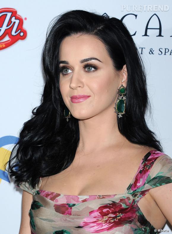 Katy Perry et son fard brun.