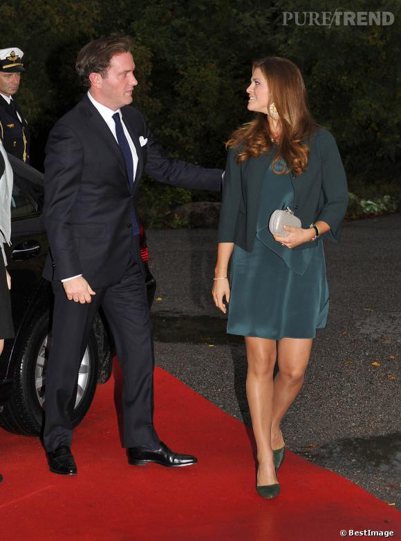 La Princesse Madeleine, un look de grossesse parfaitement calibré.