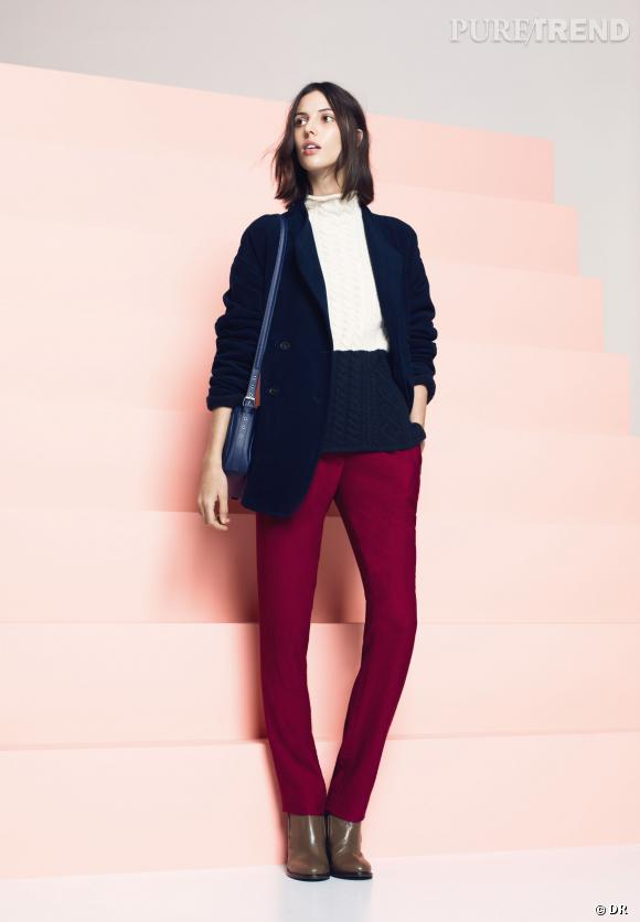 Shopping tendance : le look marin      Lookbook Lacoste Automne-Hiver 2013/2014