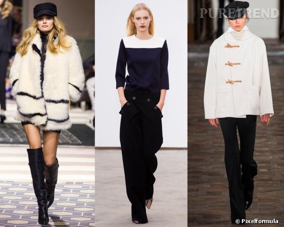 Le look marin inspiration podium : défilés H&M, Derek Lam, Ralph Lauren Automne-Hiver 2013/2014