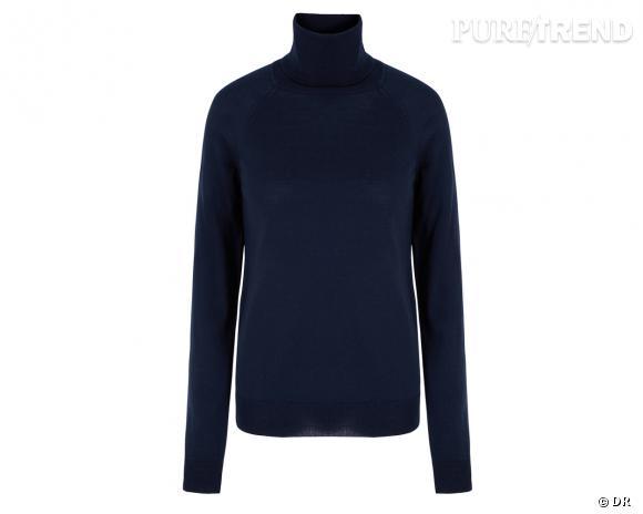 Shopping tendance : le look marin      Pull col roulé Gap, 29,95 €