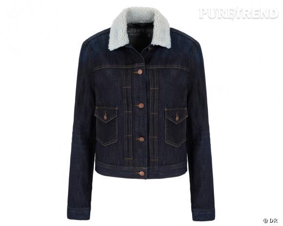 Shopping tendance : le look marin      Veste en jean Gap, 64,95 €