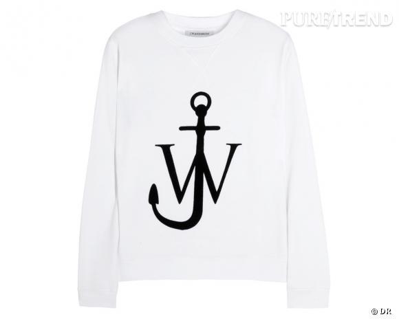 Shopping tendance : le look marin      Pull J.W. Anderson, 250 € sur Net-a-porter.com