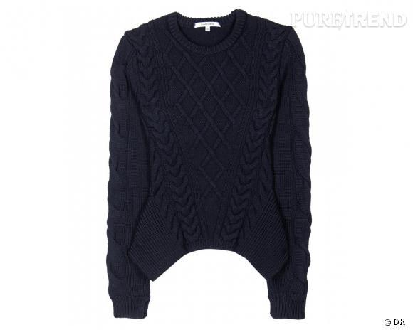 Shopping tendance : le look marin      Pull Carven, 570 € sur Mytheresa.com