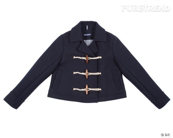 Shopping tendance : le look marin      Caba Petit Bateau, 250 €