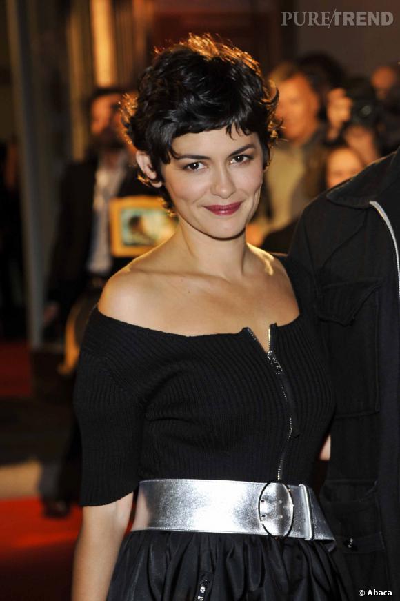 """Audrey Tautou lors de la première de """"L'Écume des jours"""" à Berlin."""