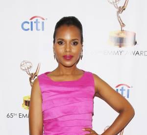 Kerry Washington est certes très heureuse de sa nomination aux Emmy Awards, mais elle se dit surtout comblée de pouvoir jouer dans une telle série.