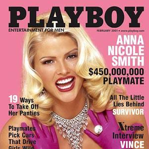 Anna Nicole Smith revisite le mythe Marilyn pour Playboy.