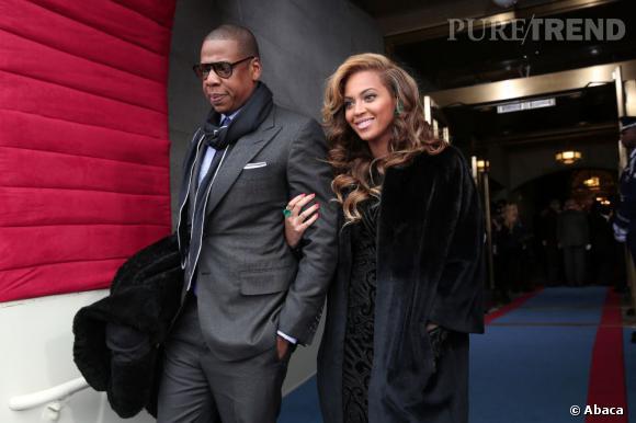 Beyoncé et Jay-Z, couple star le plus riche du monde avec 95 millions de dollars gagnés cette année.