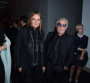 Eva Cavalli et Roberto Cavalli au gala de charité l'amfAR.