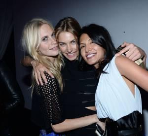 Poppy Delevingne, Karolina Kurkova, Jessica Hart... Le gala de l'amfAR à Milan