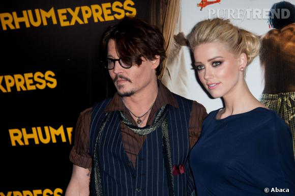 Johnny Depp et Amber Heard, l'un des nouveaux couples d'Hollywood.